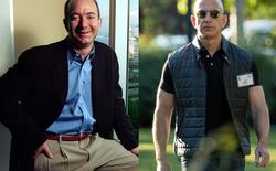 Bộ ảnh trước - sau cho thấy sự khác biệt lúc bạn mới khởi nghiệp và khi đã trở thành tỷ phú