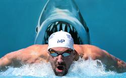 """Có tận 28 huy chương vàng, lại còn được hỗ trợ công nghệ tối tân, nhưng kình ngư Michael Phelps vẫn """"vào bụng cá"""" sau 100 mét bơi"""