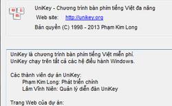 Tác giả Unikey xác nhận chỉ có website duy nhất là Unikey.org, tránh tải Unikey từ nơi khác vì tiềm ẩn mã độc