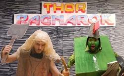 Sẽ ra sao nếu trailer 'Thor: Ragnarok' được làm từ bìa các-tông?