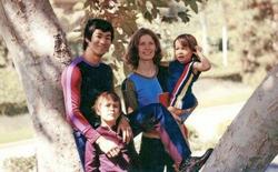Hé lộ những bức ảnh màu hiếm hoi về cuộc sống của gia đình Lý Tiểu Long
