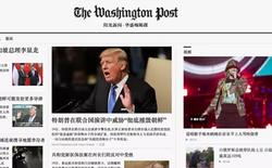 Công ty Trung Quốc làm giả cả báo Washington Post