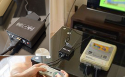 Bộ Adapter cho phép bạn cắm mọi chiếc máy chơi game cũ vào màn hình HDMI