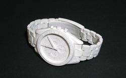 Nghệ nhân Nhật làm đồng hồ bằng giấy bồi siêu chi tiết: Kim giờ, thân máy cho đến dây đeo đều y như thật