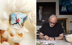 Artasnack: Ngả mũ thán phục nghệ sỹ vẽ poster phim siêu nhỏ trên bỏng ngô