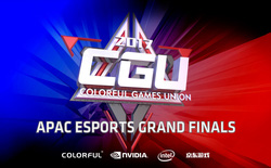 COLORFUL công bố giải eSports khu vực Châu Á – Thái Bình Dương CGU APAC 2017