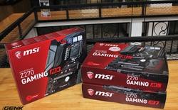 Đánh giá bộ ba bo mạch chủ MSI Z270 Gaming M series: Đấu sĩ trên nhiều hạng cân lớn.