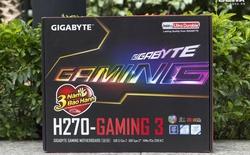Đánh giá bo mạch chủ Gigabyte H270 Gaming 3: Sản phẩm tầm trung ấn tượng mà game thủ nên có