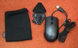 Cận cảnh chuột chơi game Asus ROG Pugio - con dao găm sắc bén dành cho game thủ