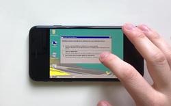 Xem iPhone 7 chạy Windows Vista, boot thôi cũng mất tới 15 phút