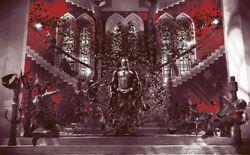 Cảnh tuyệt vời nhất Batman Begins được tái hiện đầy nghệ thuật, sánh vai cùng các tác phẩm kinh điển khác tại triển lãm tranh tại Mỹ