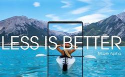 Hãng smartphone vô danh Trung Quốc gây chú ý với quảng cáo cho chiếc smartphone viền màn hình siêu mỏng, camera kép