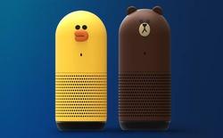 Line cũng theo xu hướng, ra mắt loa thông minh có thiết kế rất dễ thương: Gấu và vịt, tích hợp trợ lí AI riêng