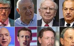 Chỉ 8 người này thôi mà khối tài sản của họ đã ăn đứt hơn nửa dân số thế giới