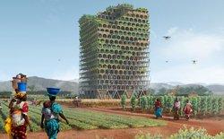 Những toà nhà chọc trời đột phá trong tương lai: Có thể trồng lúa cứu đói cả một thị trấn