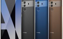 Huawei Mate 10 Pro lộ ảnh thực tế với phần lưng được làm bằng kính