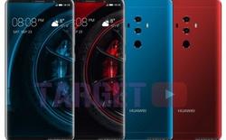 Lộ diện ảnh render rõ nét của Huawei 10 Pro: camera kép thẳng hàng với cảm biến vân tay, màn hình EntireView 5,9 inch