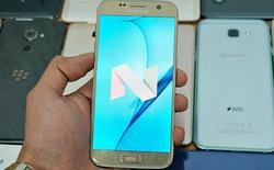 Danh sách các máy Samsung tại Việt Nam sẽ được cập nhật lên Android 7 Nougat
