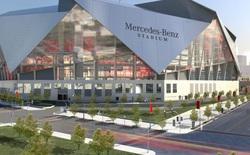 Theo dõi tiến trình 39 tháng xây dựng sân vận động Mercedes-Benz trong vòng hơn 1 phút