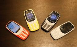 Cận cảnh loạt điện thoại Nokia mới tại Việt Nam, có cả huyền thoại 3310 đủ 4 màu sặc sỡ