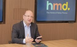 """Chủ tịch HMD Global: """"Chúng tôi đang sản xuất tất cả điện thoại featured phone cho toàn cầu ngay tại mảnh đất Việt Nam"""""""