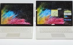 Bảng cấu hình và giá bán Surface Book 2 vừa được Microsoft ra mắt