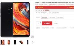 Vừa giới thiệu được 1 ngày, Xiaomi Mi Mix 2 đã có 250.000 đơn đặt hàng trước