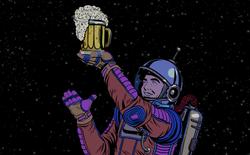 Đội ngũ sinh viên này đang dự định sẽ ủ bia trên mặt trăng