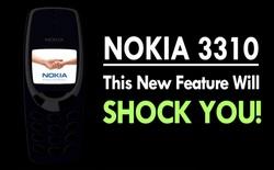 Hé lộ những tính năng đầu tiên của Nokia 3310 phiên bản 2017