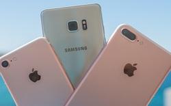"""6 smartphone sẽ bị """"vùi dập"""" khi Galaxy Note7 tân trang về Việt Nam"""