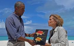 Loài cá nhỏ bé ở Hawaii bất ngờ được đặt tên theo Tổng thống Mỹ