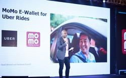 Người dùng có thể đặt xe Uber, thanh toán ngay trên ví điện tử MoMo từ ngày 1/1/2018