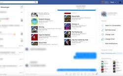 Facebook thay thế hộp thư đến bằng giao diện Messenger bản web