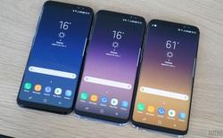 Samsung Galaxy S8 được trang bị kính cường lực Gorilla Glass 5, rơi ở độ cao ngang vai xuống cũng không sao
