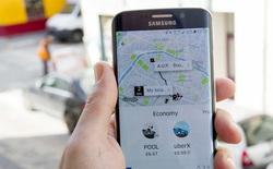 Cuối cùng Uber đã cho thay đổi điểm đón sau khi đặt xe
