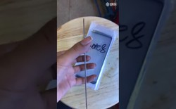 Lộ hình ảnh mặt kính trước của Galaxy Note 8, không có nút Home, viền màn hình siêu mỏng