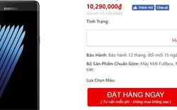 Galaxy Note7 tân trang bất ngờ được chào giá chỉ còn hơn 10 triệu đồng