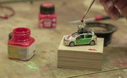 Google chế tạo một chiếc xe Street View siêu nhỏ để chụp ảnh thành phố mô hình, kết quả vô cùng ấn tượng
