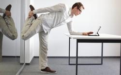 """7 bài tập """"dễ như uống trà đá"""" giúp cánh mày râu giảm thiểu tác hại khi ngồi nhiều"""