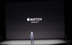 Apple cho ra mắt chiếc đồng hồ thế hệ mới Apple Watch Series 3 cắm SIM điện tử hỗ trợ LTE, gọi điện không cần iPhone, thiết kế không đổi