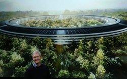 Chi phí xây dựng trụ sở chính Apple Park là khoảng 1,154 tỷ USD