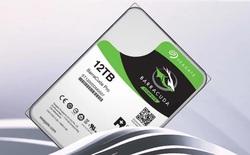 Seagate chính thức giới thiệu ổ cứng dung lượng khổng lồ 12TB, rất tốt để lưu Video 4K hoặc ảnh RAW, giá 530 USD