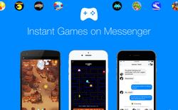 Đã có thể rủ nhau chơi game trên Facebook Messenger như Yahoo