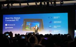 Laptop đầu tiên của ASUS sử dụng chip di động ARM và Windows 10 lộ điểm benchmark