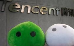 Gã khổng lồ Tencent của Trung Quốc vừa vượt mặt Facebook về giá trị vốn hóa thị trường