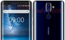 Rò rỉ hình ảnh Nokia 9 với màn hình không viền màu xanh lam bóng đẹp hút hồn