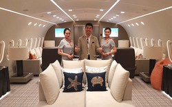 Bên trong chiếc Boeing 787 Dreamliner cá nhân duy nhất trên thế giới, giá thuê chỉ 1,7 tỷ một giờ