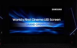 Samsung nhá hàng TV Micro LED 150 inch, sẽ ra mắt tại CES 2018