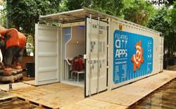 Chỉ làm từ chai nhựa tái chế và container nhưng ngôi nhà ở này sẽ có thể chịu được cả lũ lụt và thiên tai