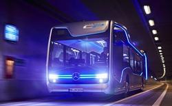 """Chiêm ngưỡng chiếc xe Bus của Tương Lai vừa đẹp vừa """"siêu"""" của Mercedes"""